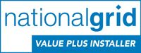 national grid, value plus installer